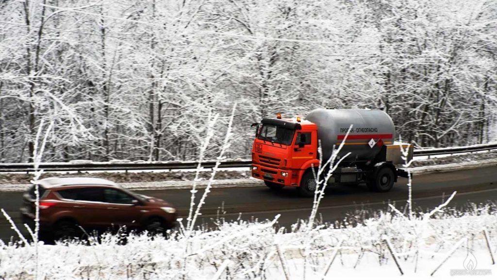 Доставка пропана для газгольдера в СПб и Ленобласти